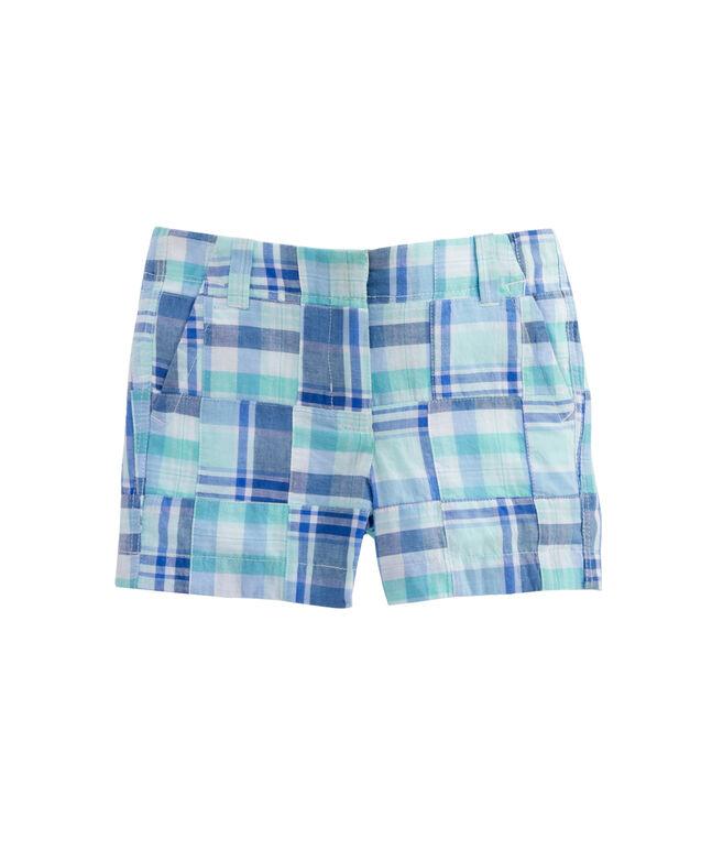 Girls Madras Every Day Shorts