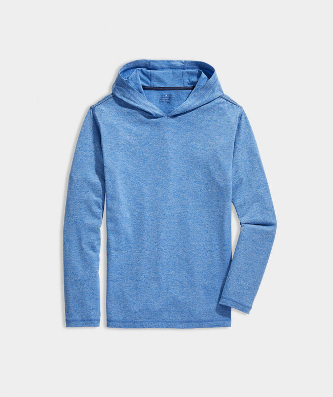 On-The-Go Long-Sleeve Hoodie Tee