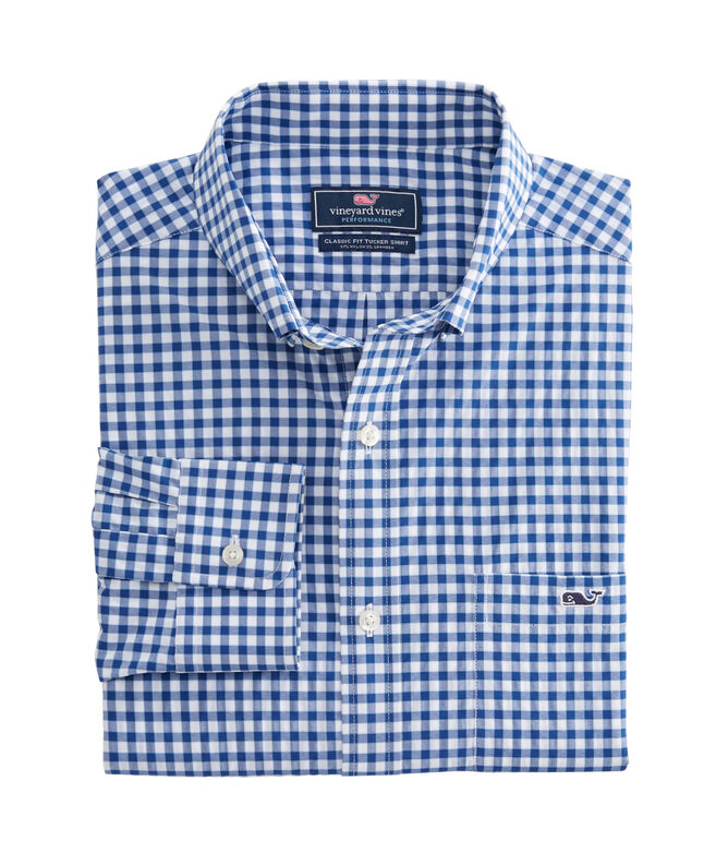 Bermuda Check Performance Classic Tucker Shirt