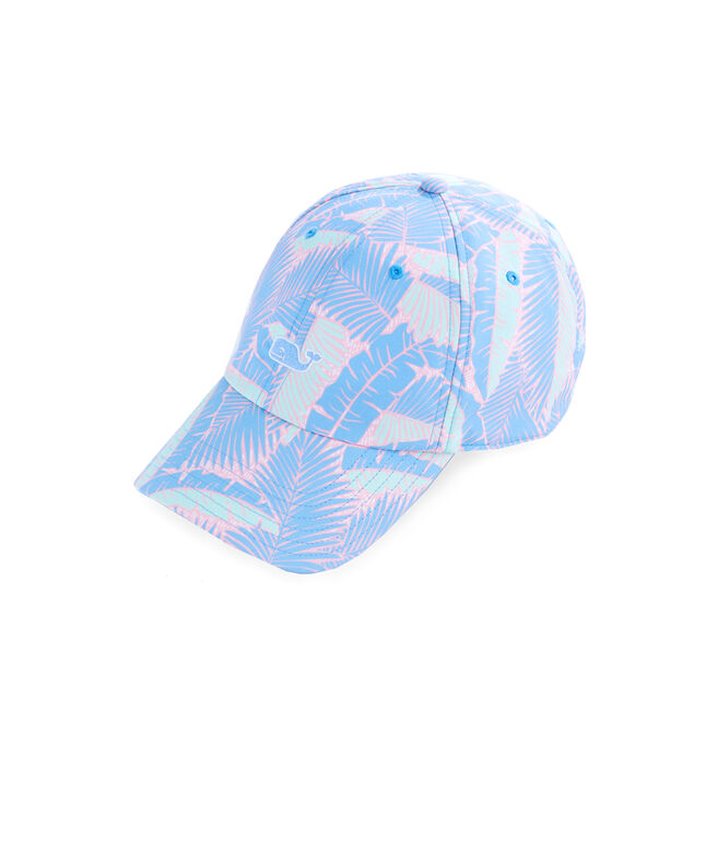 Island Palms Printed Baseball Hat