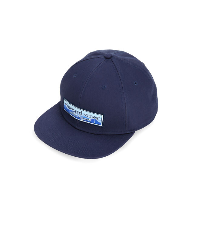 Wave Patch High Profile Twill Baseball Hat