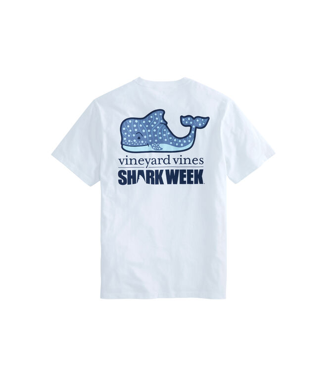 Whale Shark Character Pocket T-Shirt