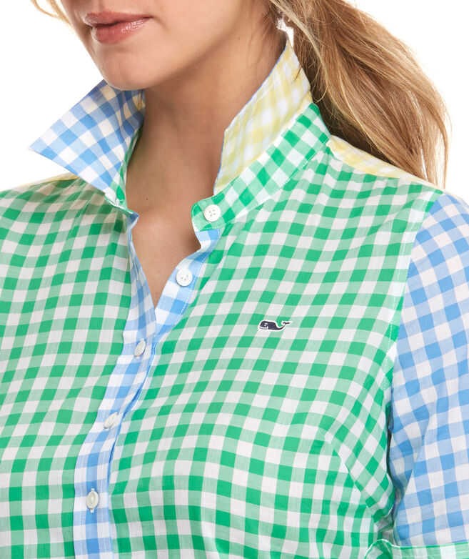 Party Gingham Popover