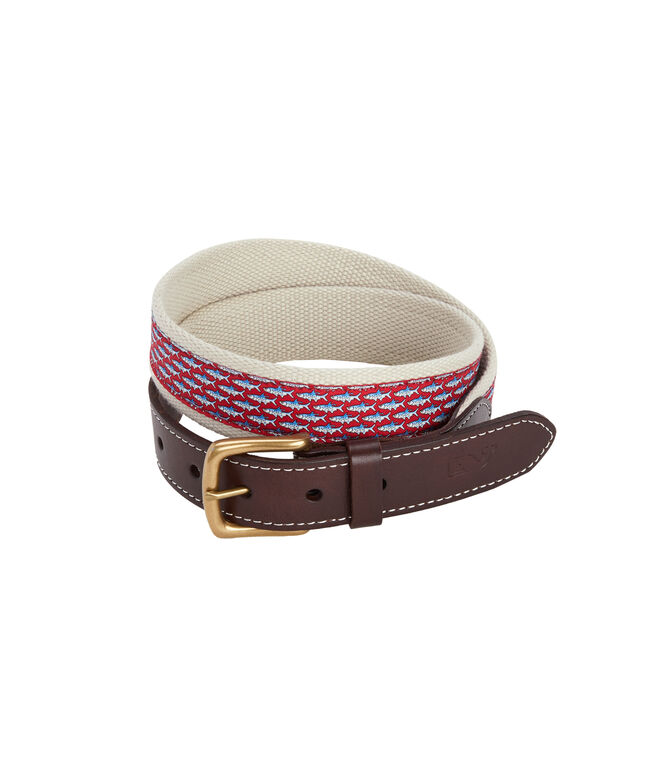 Tarpon Canvas Club Belt