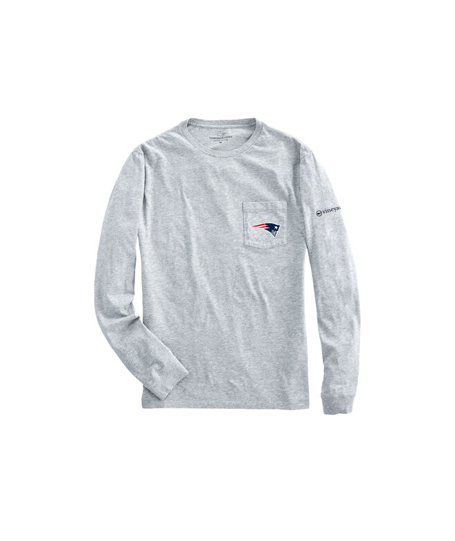 Adult New England Patriots EDSFTG Long-Sleeve T-Shirt