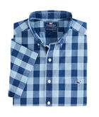 Short-Sleeve Pear Tree Cove Slim Tucker Shirt