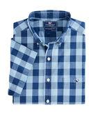Short-Sleeve Pear Tree Cove Slim Tucker Shirt