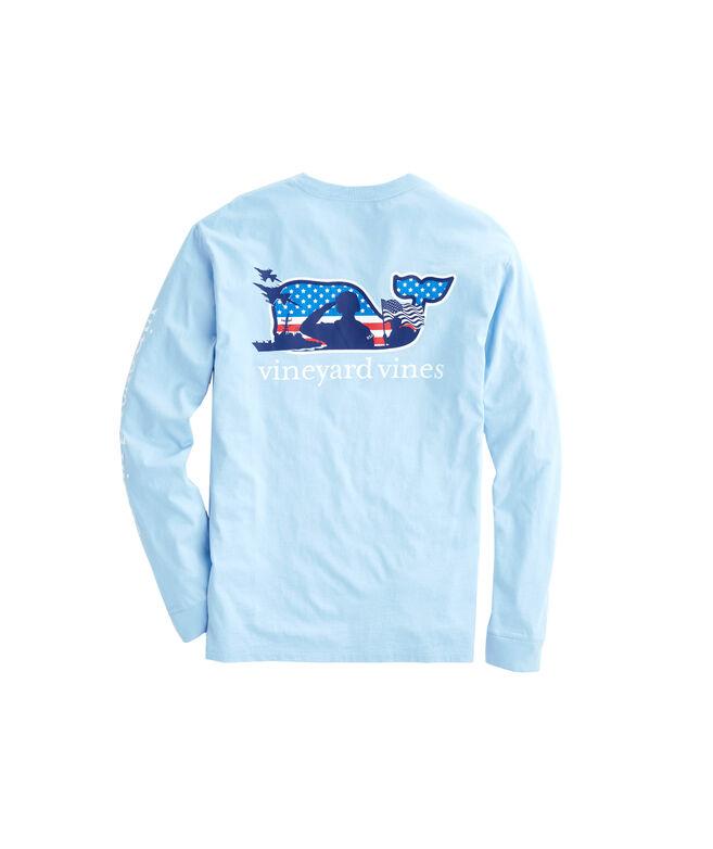 Shop Adult Long-Sleeve Veterans Pocket T-Shirt at vineyard vines 96180e6f71