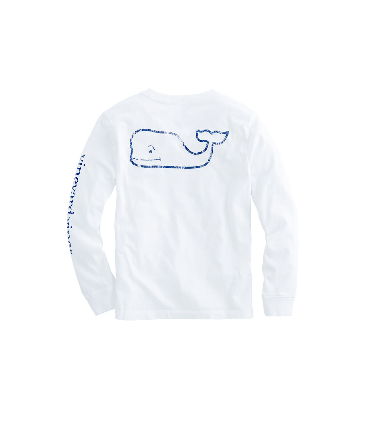 Shop Kids Long Sleeve Vintage Whale Graphic T Shirt At