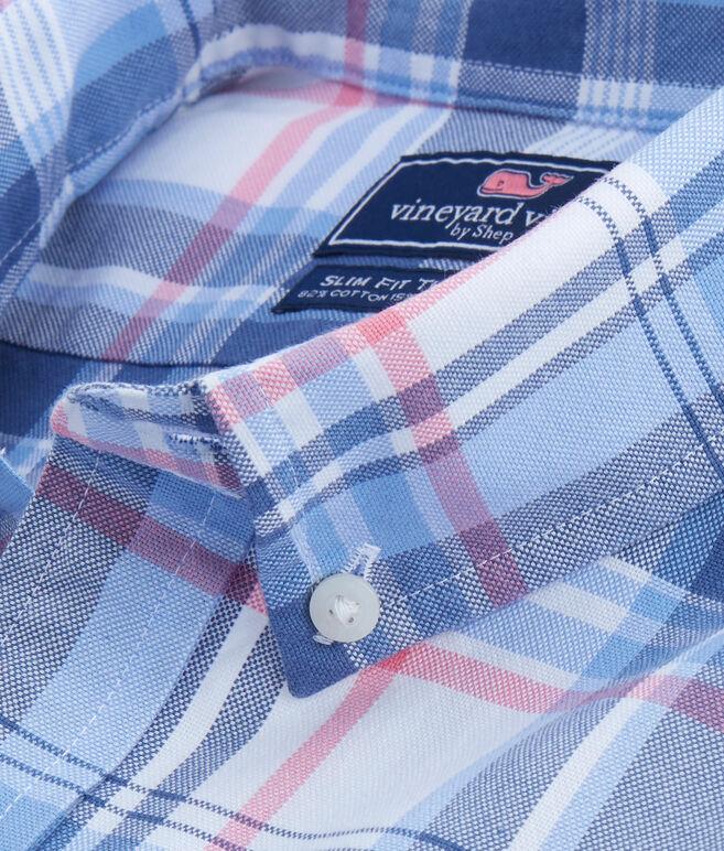 Seven Miles Plaid Slim Tucker Shirt