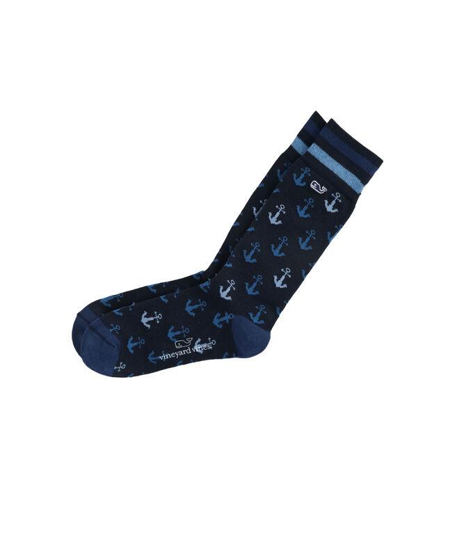 Anchor Icon Socks