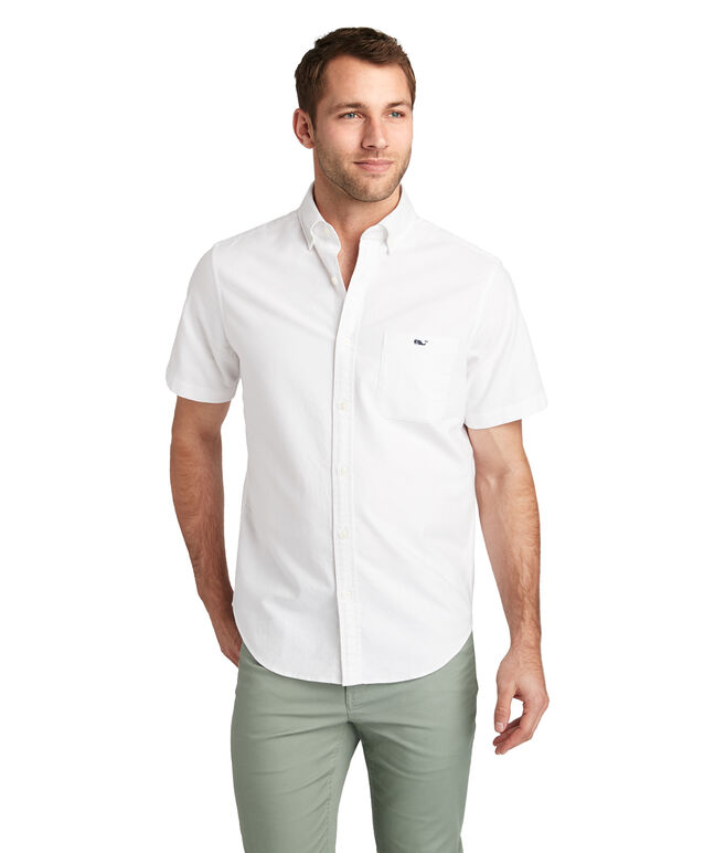 Shorts Sleeve Smuggler's Cove Solid Classic Tucker Shirt