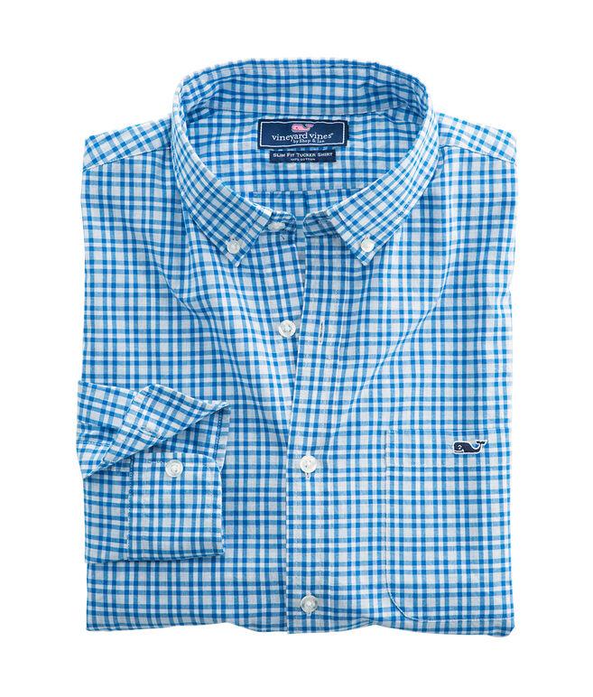 Birch Island Check Slim Tucker Shirt