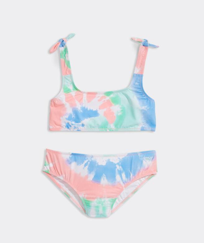 Girls' Tie-Dye Bikini Set