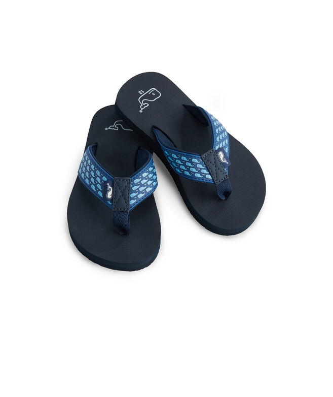 081e9e546736 Shop Boys Whale Classic Flip Flops at vineyard vines