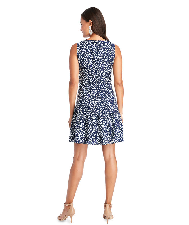 Painted Dots Sleeveless Dress