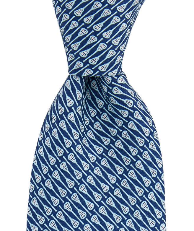 Lacrosse Sticks Printed Tie