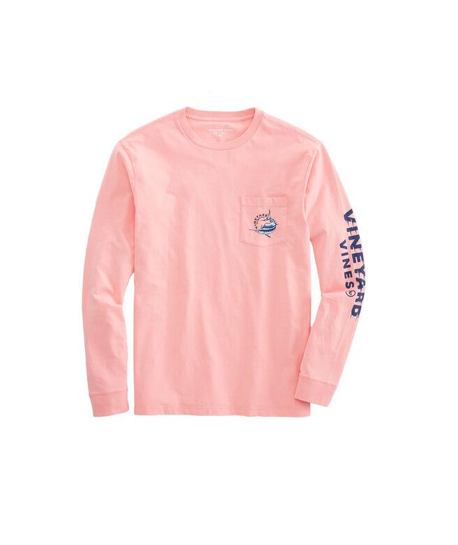 Long-Sleeve Sailfish Vortex Pocket T-Shirt