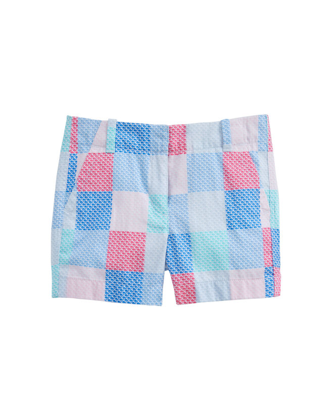 OUTLET Women's 3 1/2 Inch Patchwork Every Day Shorts