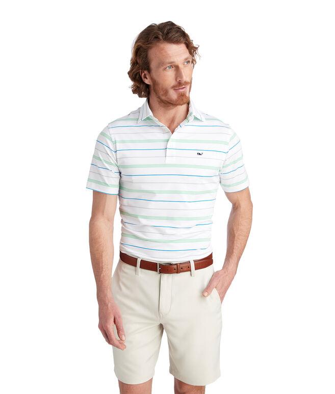 Jones Multi Stripe Sankaty Performance Polo