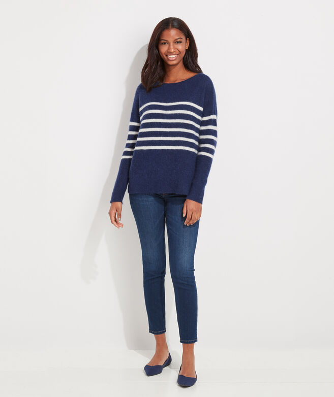 Breton Stripe Boatneck Sweater