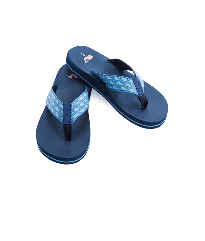 Vineyard Whale Classic Flip Flops