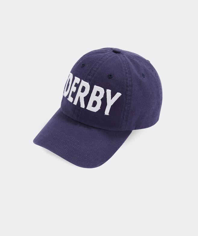Kentucky Derby Applique Baseball Hat