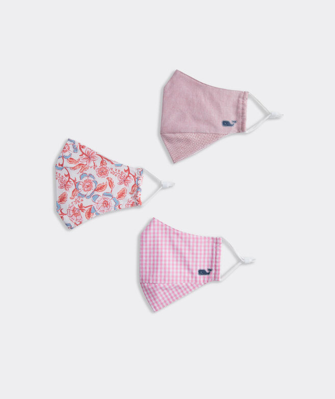 Floral and Pinks Mask 3-Pack