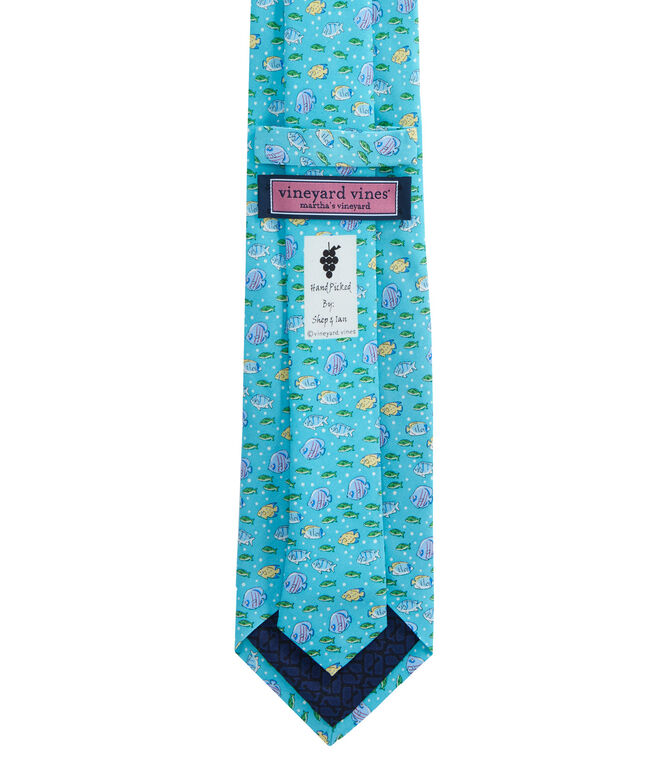 Extra Long Tropical Fish Tie