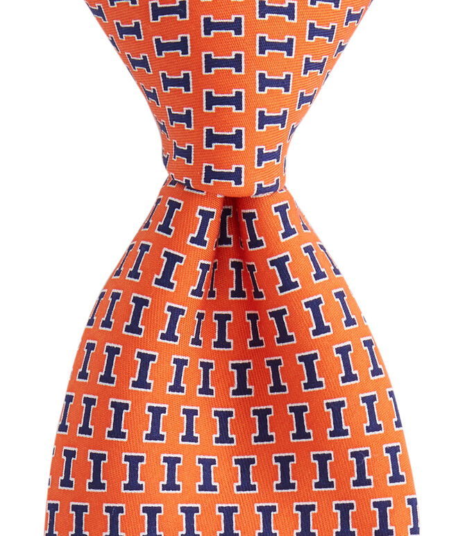 University of Illinois Tie