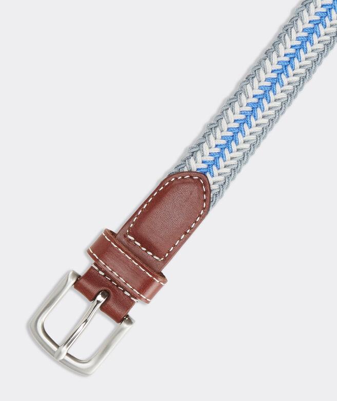 Boys' Collegiate Stripe Bungee Belt