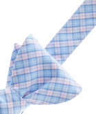 North Valley Check Woven Bow Tie