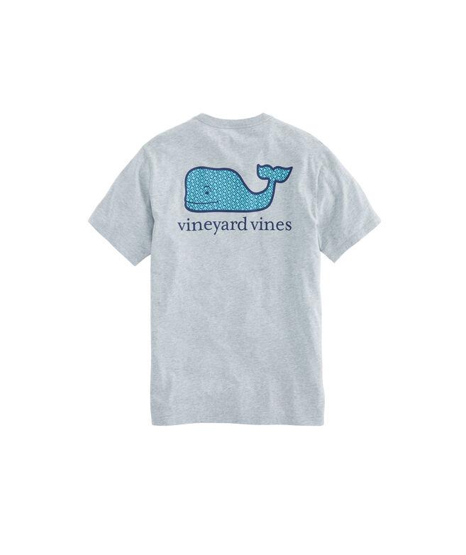 Geo Hooks Whale Fill Pocket T-Shirt