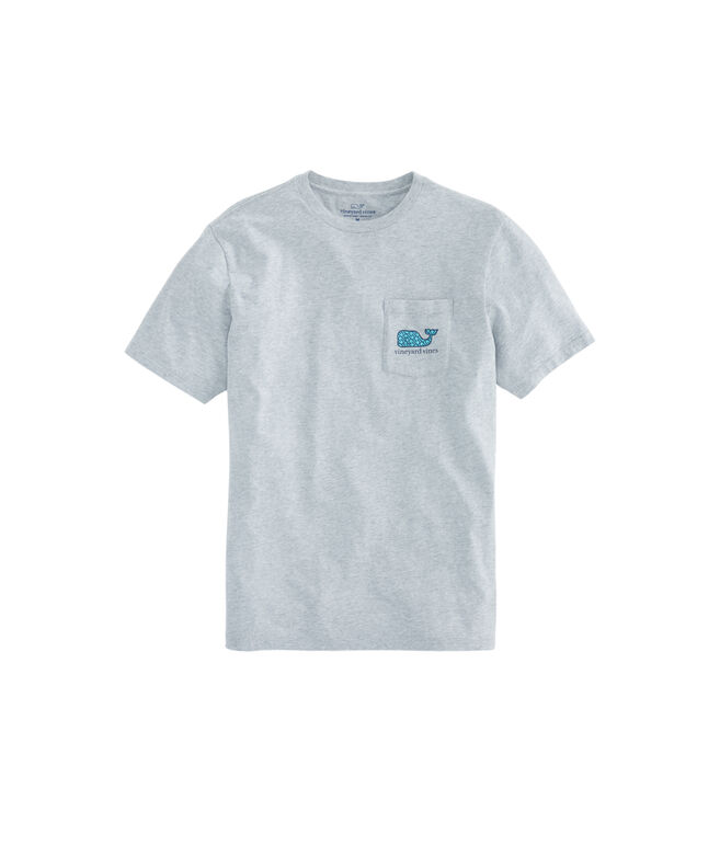 Geo Hooks Whale Fill Pocket T-Shirt