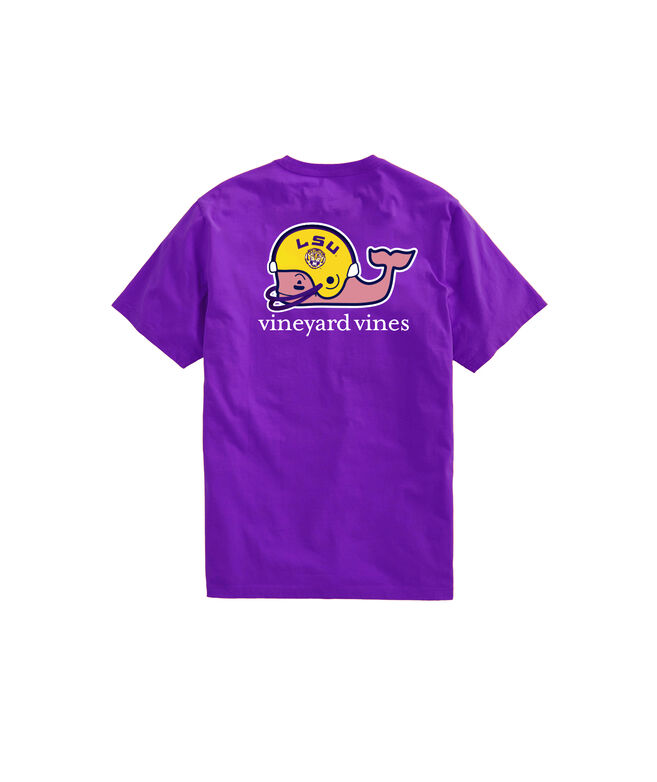 Louisiana State University Whale Helmet T-Shirt