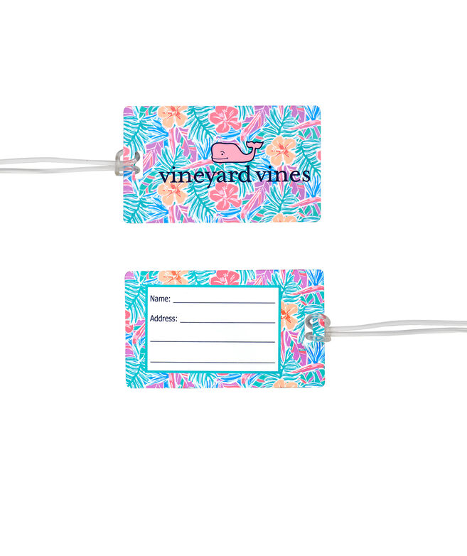 Gulf Tropical Chappy Luggage Tag