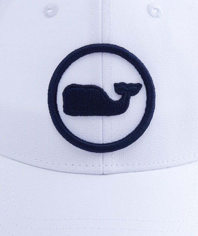 Boys Embroidered Whale Dot Performance Trucker Hat