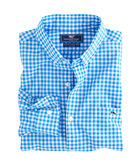 Fish Bay Gingham Slim Tucker Shirt