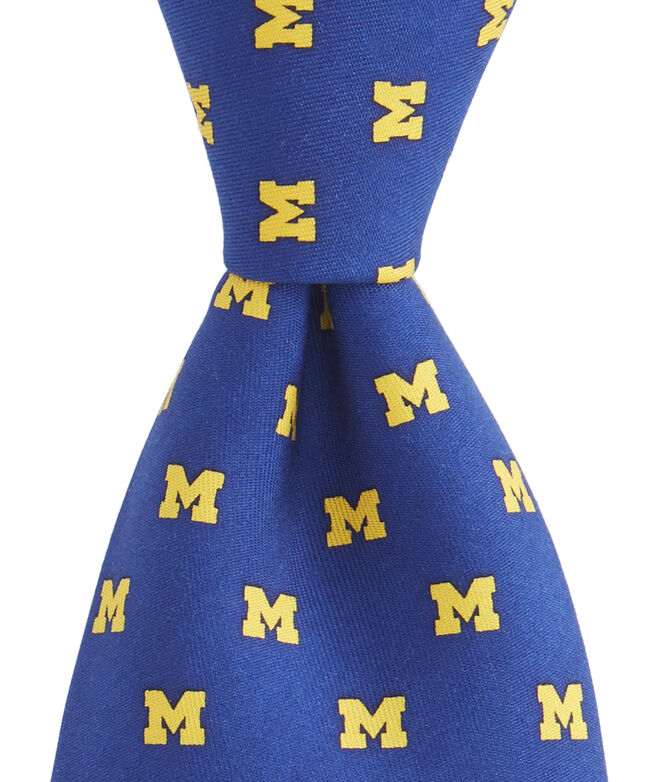 University of Michigan Tie