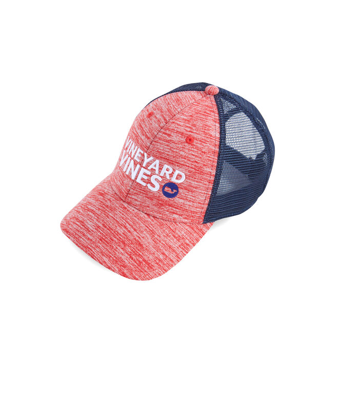 Boys Performance Space Dyed Trucker Hat