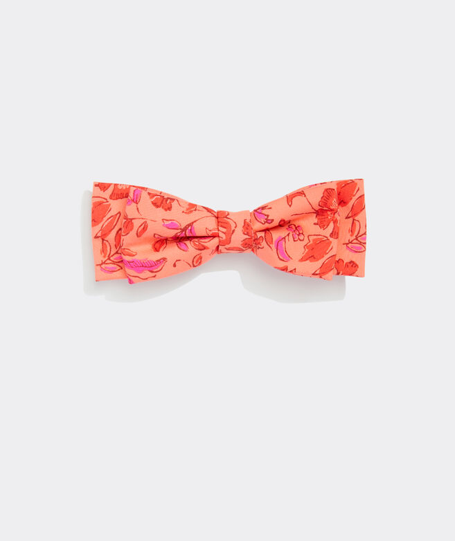 Floral Barrette Bow
