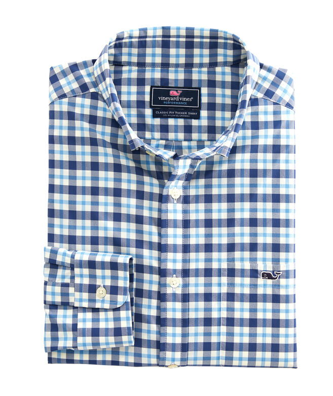 Classic Fit Cornwall On-The-Go Performance Tucker Shirt