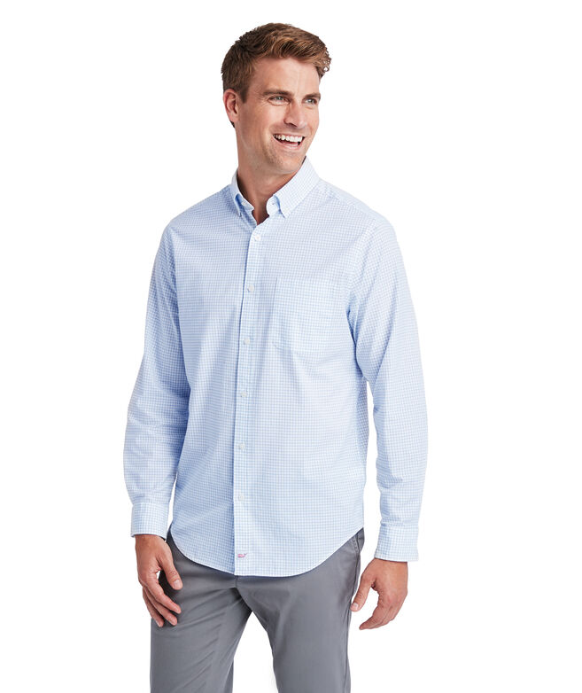 Classic Fit Calabash Check Tucker Shirt