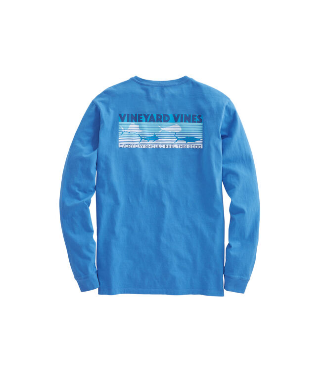 Long-Sleeve EDSFTG Fish Line T-Shirt