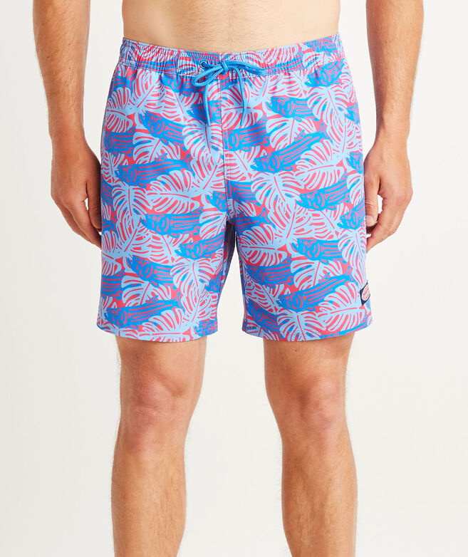 7 Inch Printed Chappy Trunks