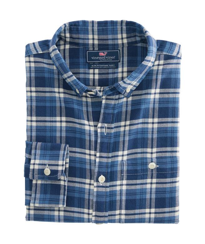 Big & Tall Java Classic Fit Longshore Shirt