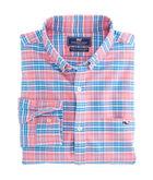 Island Reach Plaid Slim Tucker Shirt