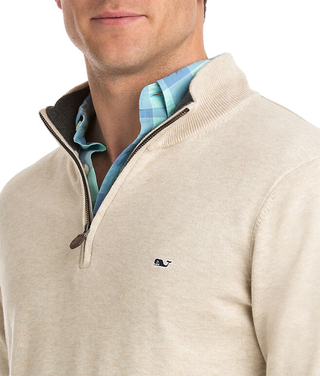 Cotton 1/4-Zip