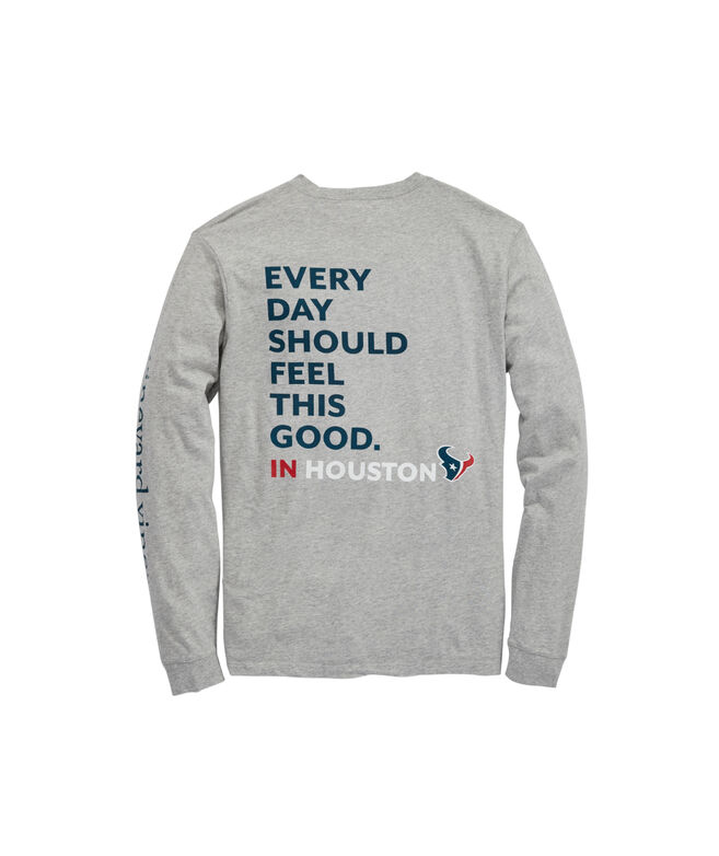 Houston Texans Long-Sleeve EDSFTG T-Shirt