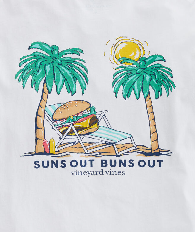 Suns Out Buns Out Long-Sleeve Pocket Tee